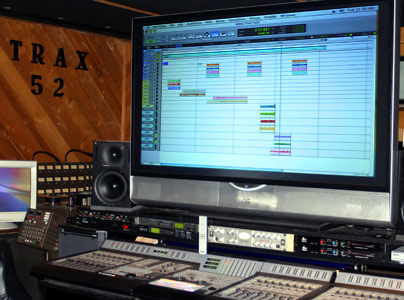 "The Trax52  71"" Editing Console"