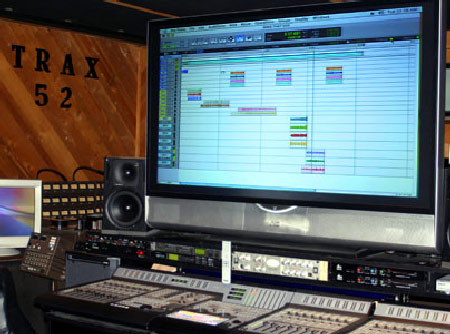 Pro Tools HD Recording console at Trax 52 in Mequon, WI
